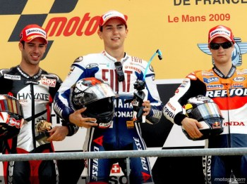 Le Mans MotoGP Podium09-1