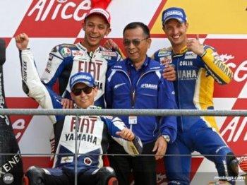 Yamaha Podium Le Mans 2008