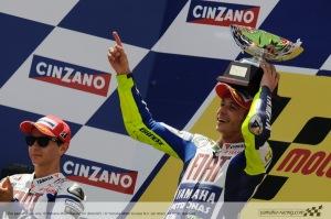 V. Rossi: Podium Juara I Ke-99